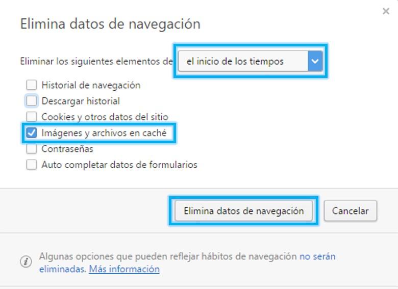 Anexo 11 Borrar datos navegación Opera