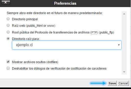 Anexo 2 Configuración