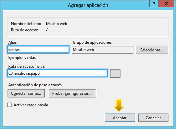 Anexo 14 Aplicación ASP.NET