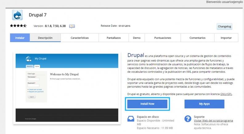 Anexo 2 Instalar Drupal