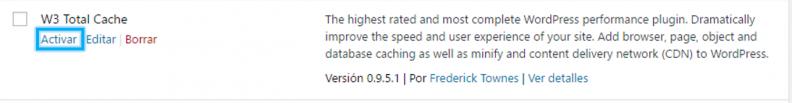 Anexo 7 Activar desde plugins instalados
