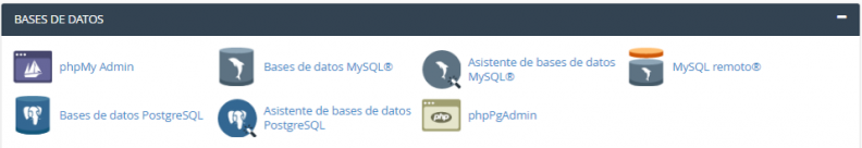 Anexo 4 Bases de datos