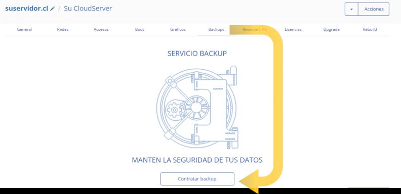 Anexo 3 Contratar Backup